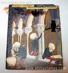 Slide Mailer Skeletons by Shannon Sawyer