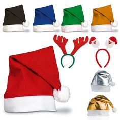 Boy's Hats Generous Kids Christmas Santa Claus Snowman Elk Reindeer Snowflakes Hats Christmas Hat For Children Adult New Year Party Gifts Apparel Accessories