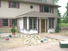 Front Entry Addition