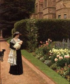 Edmund Blair Leighton (1853 – 1922, English)