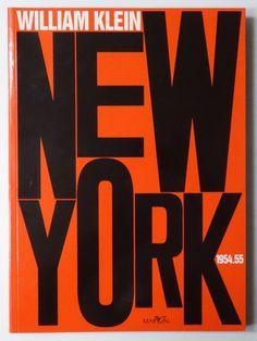 Typeverything.com - New York 1954.55, William Klein.