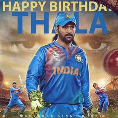 Fans trend as MS Dhoni turns 35 India Cricket Team, Cricket Sport, Sachin Tendulkar Quotes, Ms Doni, Happy Birthday Hd, Tri Series, Best Gym Workout, Reality Of Life Quotes, Dhoni Quotes