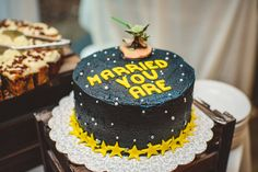 Great idea for Groom's Cake - Star Wars! | Charlotte wedding, Charlotte wedding vendors, intimate, NC wedding, NC wedding vendors, Outdoor | Photographer @robpluskristen