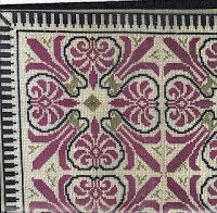 glykyvrastos: Εργόχειρο/Σχέδια Beaded Embroidery, Cross Stitch Embroidery, Palestinian Embroidery, Loom Beading, Knitting Needles, Needlepoint, Needlework, Bohemian Rug, Diy And Crafts