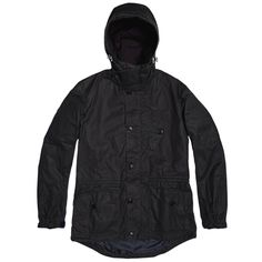 Barbour Dept. (B) Summer Parka (Navy)
