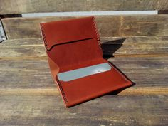 Hey, I found this really awesome Etsy listing at https://www.etsy.com/listing/123389170/minimalistic-slim-bi-fold-leather-wallet