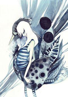 ...bird... by buguanle.deviantart.com on @DeviantArt