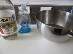 Homemade Carpet Stain Remover: Going to try this: 2 Tbsp. clear Dawn dish soap + 2 Tbsp. white vinegar + 2 cups warm water.  Mix, put it in a spray bottle, spray the stain, rub with a white rag, blot with white towel.  The blogger claims she hasn't found anything she can't remove.
