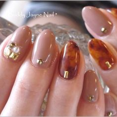 That tortoise nail art :o I love it! Gorgeous Nails, Love Nails, Pink Nails, Pretty Nails, My Nails, Office Nails, Japanese Nails, Bridal Nails, French Nails