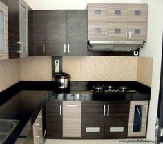 Cara membuat kitchen set sendiri sederhana minimalis for Kitchen set olympic harga