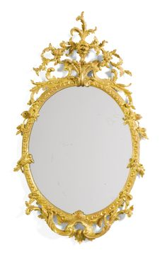 A George II giltwood mirror | Lot | Sotheby's