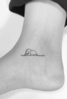 37 incredibly discreet and gorgeous feminist tattoo .- 37 unglaublich diskrete und wunderschöne feministische Tattoos 37 incredibly discreet and beautiful feminist tattoos – – - Foot Tattoos, New Tattoos, Body Art Tattoos, Small Tattoos, Girl Tattoos, Ankle Tattoos, Small Feminine Tattoos, Tatoos, Little Prince Tattoo