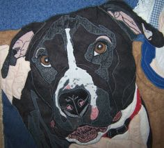 dog quilt - my Sophie