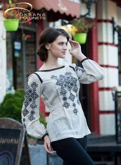 "Embroidered Tunic: for sale, the price in Kiev.  эtnycheskaya Clothing and shoes zhenskaya as ""Design Studio Oksana Polonets"" - 49589324"