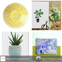 Repost from @samanthawarren.london Don't miss the Winter Design Boutique 16-22 nov, 65a Sheen Lane, London, SW14. I'll be there with fellow designers @n_s_ceramics @clover_robin @samanthawarren.london @emilydaborn &Alice May #design #surfacepattern #textilesdesign #sheen #mortlake