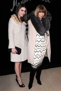 Anna Wintour Daughter 2015 | Anna Wintour Anna Wintour (R) and daughter Bee Shaffer attend the ...