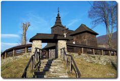 Slovakia, Ruský Potok - Wooden church Beautiful Places In The World, Central Europe, Bratislava, Kirchen, Cathedrals, Czech Republic, Prague, Hungary, Wood Art