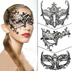 lace masquerade mask template - Google Search