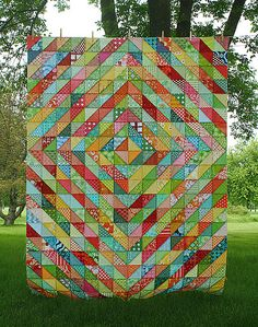 [great quilt top - love these colors]