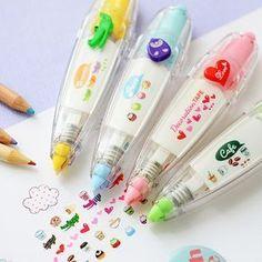 Fita corretiva bonito Dos Desenhos Animados de animais Decoração fitas para carta diário scrapbooking DIY ferramentas de papelaria material Escolar 6514