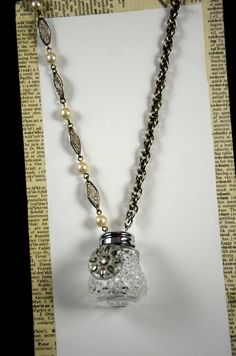 Vintage Salt Shaker Necklace via Etsy
