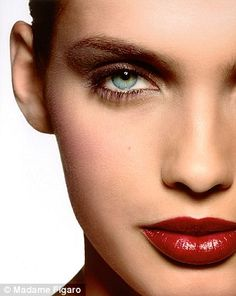 Glory in red: Red lips were everywhere on the summer catwalks. We ...