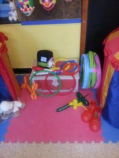 Circus Clown, Circus Theme, Preschool Circus, Dramatic Play Centers, Play Centre, Clowns, In Kindergarten, Teaching, January
