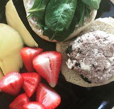 Obtainable Table: Feta Basil Turkey Burger