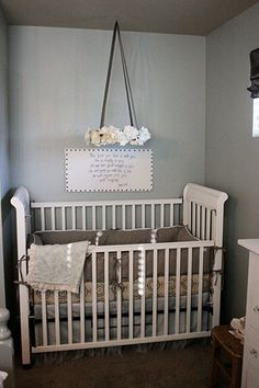 I love that this nursery is something the baby can grow with, rather than having to completely redo the room once they get older. It has age appropriate details but is neutral enough that it can work with new decor later.