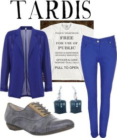 love the earrings Doctor Who clothes. I've never loved an outfit more!!  @Heather Lay Sciortino