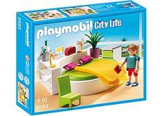 Slaapkamer met loungebed - PLAYMOBIL® Nederland