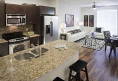 Open Floor Plans Kitchen Living Rooms And Small Open Plan Kitchens