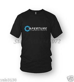 Check lastest price Portal T-Shirt Aperture Laboratories MEN'S The Cake Is A Lie Half Life Free Shipping just only $12.09 with free shipping worldwide  #tshirtsformen Plese click on picture to see our special price for you