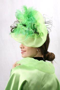 0f6dbfb3e2502 9 delightful Green Fascinator images