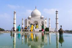 Love Trotters en Inde au Taj Mahal