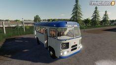 Bus By for Farming Simulator 19 Mirror Work, Work Lights, Olaf, Farming, Autos, Tractors