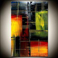GRANDES obras de arte pintura abstracta arte arte por largeartwork