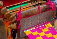 Change is good--Kente Cloth Loom | Flickr - Photo Sharing!