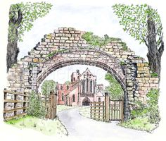 The Arch, Lanercost Priory
