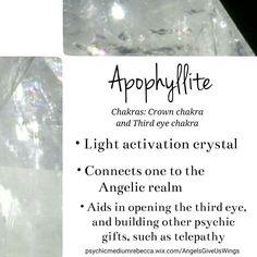 Apophylite crystal meaning
