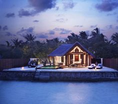 The Marvelous Taj Exotica Resort and Spa in Maldives - another hut