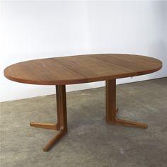Dining table by Niels O. Møller for Gudme Møbelfabrik, By, Desks, 1960s, Tables, Dining Table, Furniture, Vintage, Home Decor, Mesas