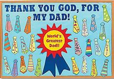 Celebrate Father's Day with creative and colorful bulletin boards that focus on reveling in what children love about their fathers.