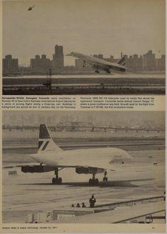 Concorde F-WTSB at JFK