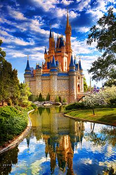 Disney Castle - I'm having a major Disney craving