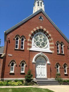 Collier Chapel located next door to the Schindler Center