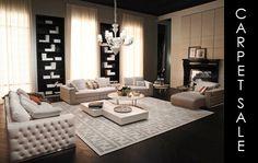 Kris Turnbull Studio - Exclusive Supplier of Fendi Casa Living Room Sets, Home Living Room, Living Room Designs, Living Room Decor, Living Spaces, Luxury Sofa, Luxury Living, Luxury Interior, Fendi Casa