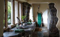 Virunga Lodge - Badezimmer
