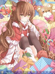 Imagem de anime, girl, and kawaii