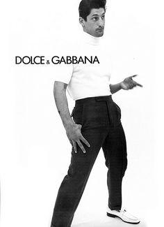 Dolce & Gabbana Season: Spring/Summer 1996 Model(s): Tony Ward Ph: Steven Meisel